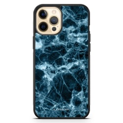 Bjornberry Hårdskal iPhone 12 Pro Max - Blå Marmor