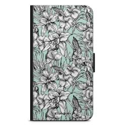 Bjornberry OnePlus 5T Plånboksfodral - Exotiska Blommor