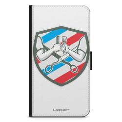 Bjornberry OnePlus 5T Plånboksfodral - Frisör Loggo