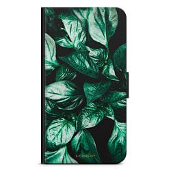 Bjornberry OnePlus 5T Plånboksfodral - Gröna Löv