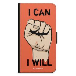 Bjornberry OnePlus 5T Plånboksfodral - I CAN I WILL