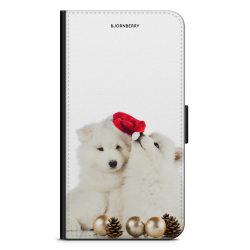 Bjornberry OnePlus 5T Plånboksfodral - Julhundar