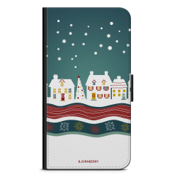 Bjornberry OnePlus 5T Plånboksfodral - Julstad