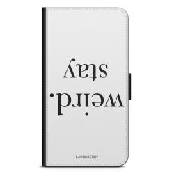 Bjornberry OnePlus 5T Plånboksfodral - STAY WEIRD