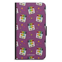 Bjornberry Plånboksfodral Google Pixel 3 - Färgpennor