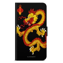 Bjornberry Plånboksfodral Huawei Honor 9 - Gul Drake