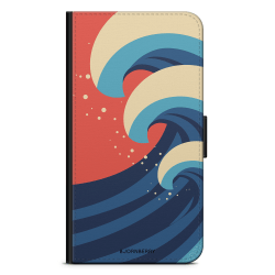Bjornberry Plånboksfodral Huawei Mate 8 - Vågor