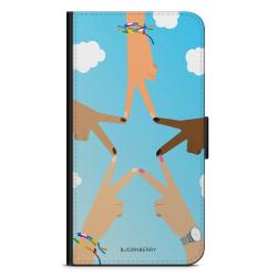 Bjornberry Plånboksfodral Huawei Mate 9 - Händer Stjärna