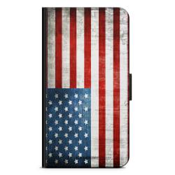 Bjornberry Plånboksfodral Huawei Mate 9 - USA Flagga