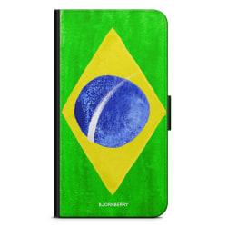 Bjornberry Plånboksfodral Huawei P10 Lite - Brasiliens Flagga