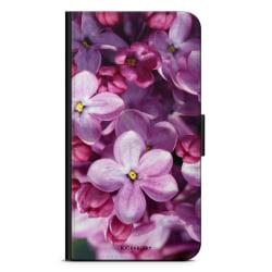 Bjornberry Plånboksfodral Huawei P10 Lite - Lila Vårblommor