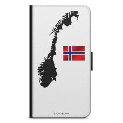 Bjornberry Plånboksfodral Huawei P8 Lite - Norge