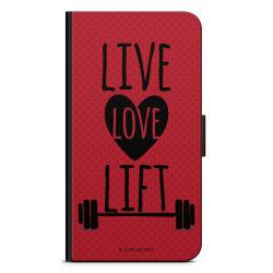Bjornberry Plånboksfodral Huawei P9 Plus - Live Love Lift