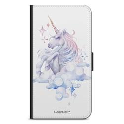 Bjornberry Plånboksfodral Huawei P9 Plus - Vattenfärg Enhörning