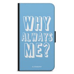 Bjornberry Plånboksfodral Huawei Y6 (2017)- Why Always Me?