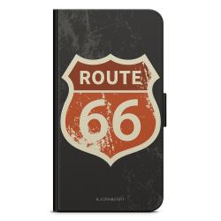 Bjornberry Plånboksfodral Huawei Y6 (2019)- Route 66