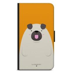 Bjornberry Plånboksfodral iPhone 11 Pro - Fet Mops