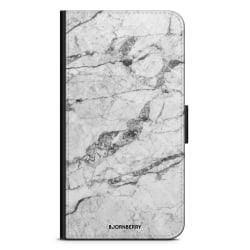 Bjornberry Plånboksfodral iPhone 11 - Vit Marmor