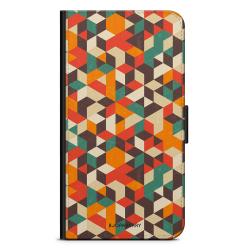 Bjornberry Plånboksfodral iPhone 12 Pro - Retro Geometri