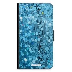 Bjornberry Plånboksfodral iPhone 12 - Stained Glass Blå
