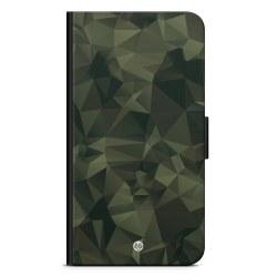 Bjornberry Plånboksfodral iPhone 4/4s - Abstrakt Kamo