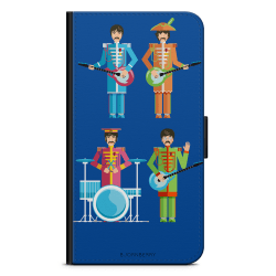 Bjornberry Plånboksfodral iPhone 4/4s - Beatles