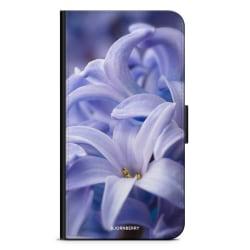 Bjornberry Plånboksfodral iPhone 4/4s - Blå blomma