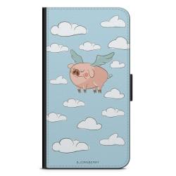 Bjornberry Plånboksfodral iPhone 4/4s - Flygande Gris