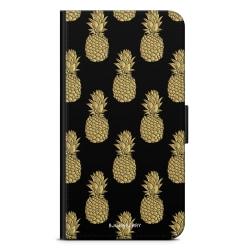 Bjornberry Plånboksfodral iPhone 4/4s - Guldiga Ananas