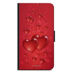 Bjornberry Plånboksfodral iPhone 4/4s - Hjärtan