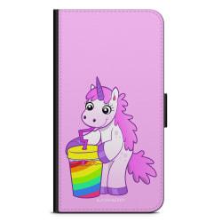 Bjornberry Plånboksfodral iPhone 7 Plus - Drickande Enhörning