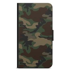 Bjornberry Plånboksfodral iPhone 7 Plus - Kamouflage