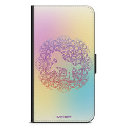 Bjornberry Plånboksfodral iPhone 7 Plus - Regnbågsenhörning