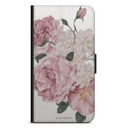 Bjornberry Plånboksfodral iPhone 8 Plus - Rosor