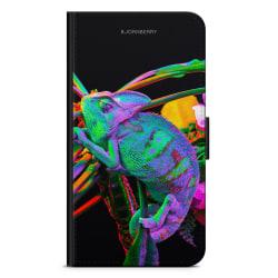 Bjornberry Plånboksfodral iPhone XR - Kameleont