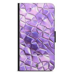 Bjornberry Plånboksfodral iPhone XR - Purple Crystal