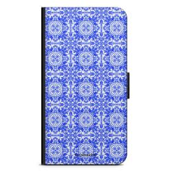 Bjornberry Plånboksfodral iPhone XS MAX - Blått Kakel