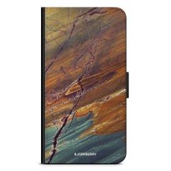 Bjornberry Plånboksfodral iPhone XS MAX - Marmorsten