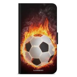 Bjornberry Plånboksfodral Moto G5 Plus - Fotball