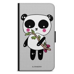 Bjornberry Plånboksfodral Moto G5 Plus - Söt Panda
