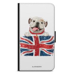 Bjornberry Plånboksfodral Motorola Moto G6 -Engelsk Bulldog
