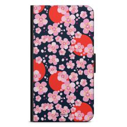 Bjornberry Plånboksfodral Motorola Moto G6 -Japan Blommor