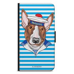 Bjornberry Plånboksfodral Motorola Moto G6 -Marinehund