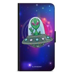 Bjornberry Plånboksfodral Motorola Moto G6 -UFO Alien