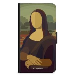 Bjornberry Plånboksfodral Nokia 6.1 - Mona Lisa