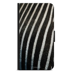 Bjornberry Plånboksfodral Nokia 6.1 - Zebramönster