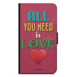 Bjornberry Plånboksfodral Nokia 7 Plus - All You Need Is Love