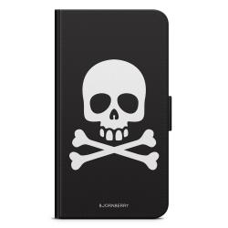 Bjornberry Plånboksfodral Nokia 7 Plus - Skull