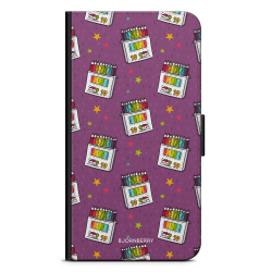 Bjornberry Plånboksfodral OnePlus 5 - Färgpennor