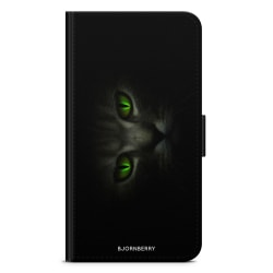 Bjornberry Plånboksfodral OnePlus 5 - Gröna Kattögon